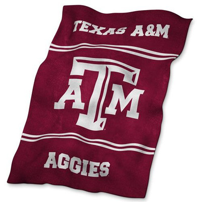 Texas A&M Aggies Ultrasoft Blanket | Logo Chair | 219-27