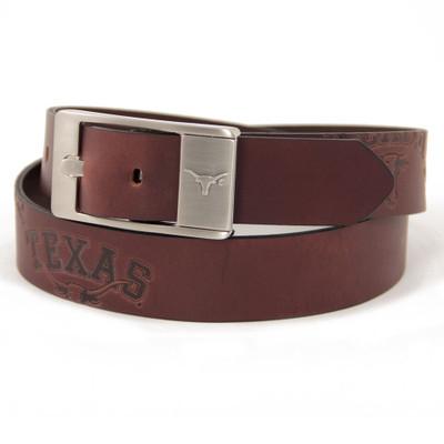 Texas Longhorns Brandish Brown Belt | Eagles Wings | 9201-