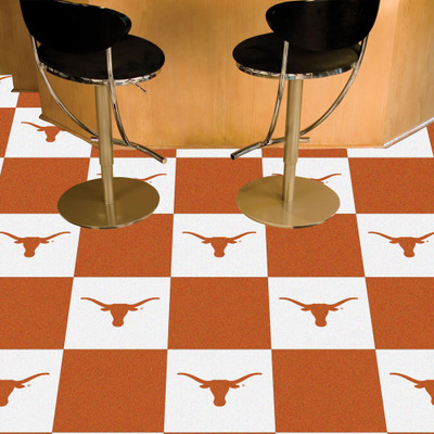 Texas Longhorns Carpet Tiles | Fanmats | 8510