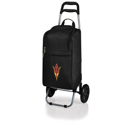 Arizona State Sun Devils Rolling Cart Cooler | Picnic Time | 545-00-175-024-0