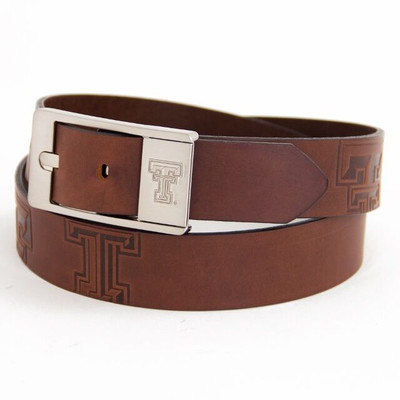 Texas Tech Red Raiders Brandish Brown Belt | Eagles Wings | 9413-