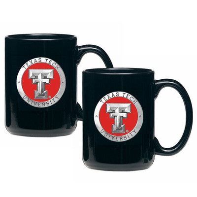 Texas Tech Red Raiders Coffee Mug Set of 2 | Heritage Pewter | CM10146E