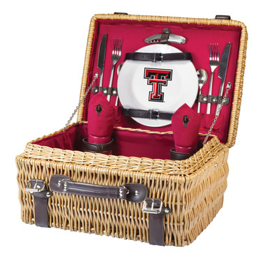 Texas Tech Red Raiders Champion Picnic Basket | Picnic Time | 208-40-100-574-0