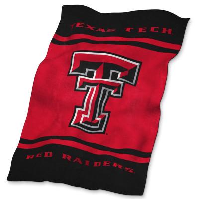 Texas Tech Red Raiders Ultrasoft Blanket | Logo Chair | 220-27