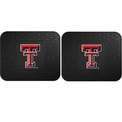 Texas Tech Red Raiders Utility Car Mats Set of Two | Fanmats | 12272