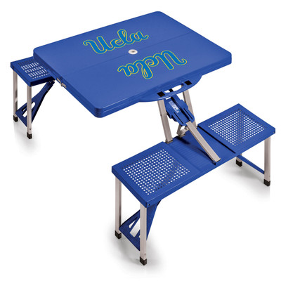 UCLA Bruins Folding Picnic Table | Picnic Time | 811-00-139-084-0