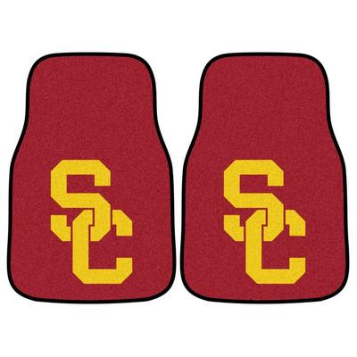 USC Trojans Carpet Floor Mats | Fanmats | 5659