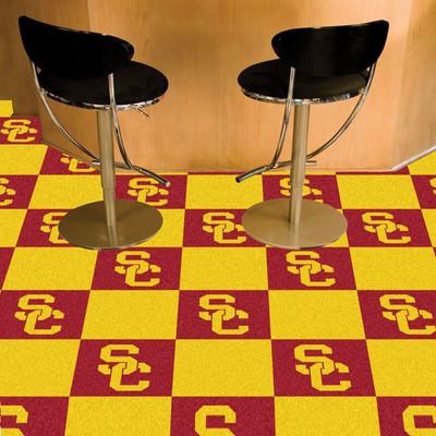 USC Trojans Carpet Tiles | Fanmats | 8516