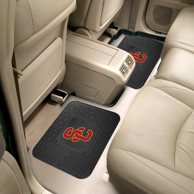 USC Trojans Utility Car Mats Set of Two | Fanmats | 12297