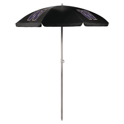 Washington Huskies Beach Umbrella | Picnic Time | 822-00-179-624-0