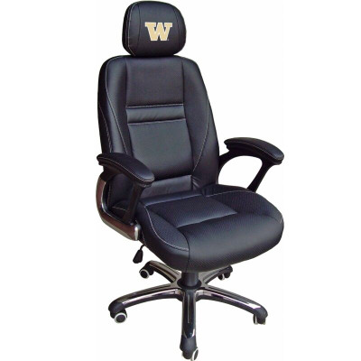 Washington Huskies Leather Office Chair | Wild Sports | 901C-WASH