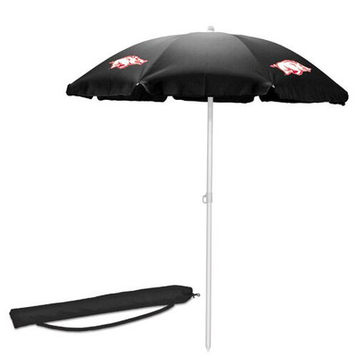 Arkansas Razorbacks Beach Umbrella | Picnic Time | 822-00-179-034-0