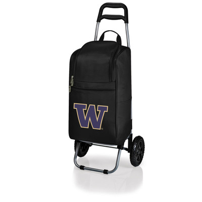 Washington Huskies Rolling Cart Cooler | Picnic Time | 545-00-175-624-0