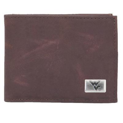 West Virginia Mountaineers Bi-Fold Wallet | Eagles Wings | 2581
