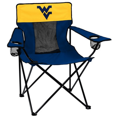West Virginia Mountaineers Elite Tailgate Chair | Logo Chair | 239-12E