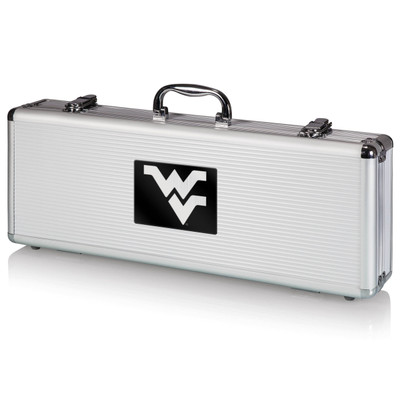 West Virginia Mountaineers Grill Set | Picnic Time | 681-00-179-833-0