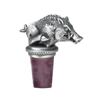 Arkansas Razorbacks Bottle Stopper | Heritage Pewter | BS10255
