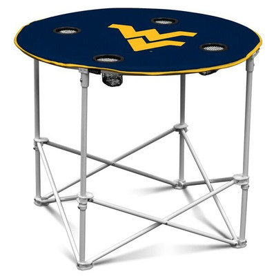 West Virginia Mountaineers Portable Table | Logo Chair | 239-31
