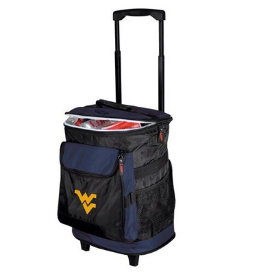 West Virginia Mountaineers Rolling Cooler | Logo Chair | 239-57