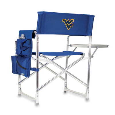 West Virginia Mountaineers Sports Chair | Picnic Time | 809-00-138-834-0