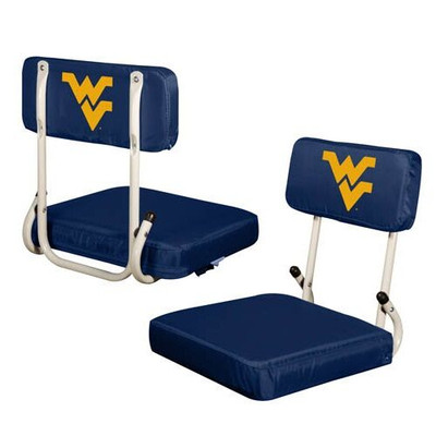 West Virginia Mountaineers Hard Back Stadium Seat | Logo Chair | 239-94