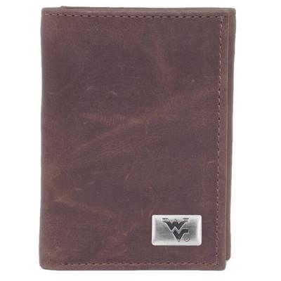 West Virginia Mountaineers Tri-Fold Wallet | Eagles Wings | 2582
