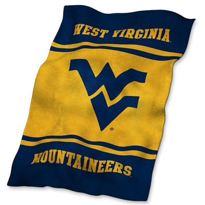 West Virginia Mountaineers Ultrasoft Blanket | Logo Chair | 239-27