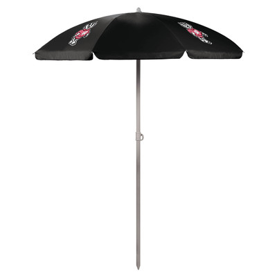 Wisconsin Badgers Beach Umbrella | Picnic Time | 822-00-179-644-0