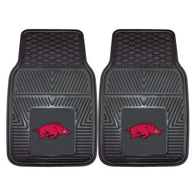 Arkansas Razorbacks Heavy Duty Car Mats | Fanmats | 8762