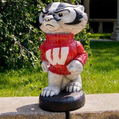 Wisconsin Badgers Mascot Garden Statue | Stonecasters | 2786HT