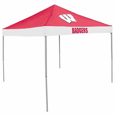 Wisconsin Badgers Canopy Tailgate Tent | Logo Chair | 244-39E