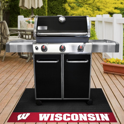 Wisconsin Badgers Grill Mat | Fanmats | 12134