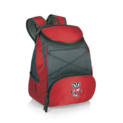 Wisconsin Badgers Insulated Backpack PTX | Picnic Time | 633-00-100-644-0
