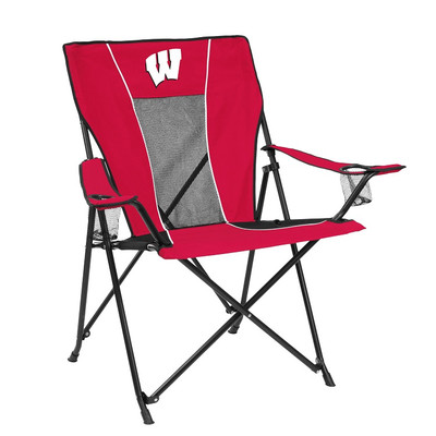 Wisconsin Badgers Game Time Tailgate Chair | Logo Chair | 244-10G
