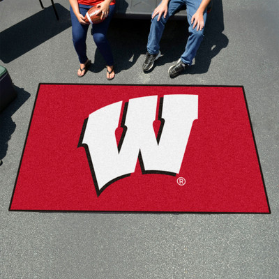 Wisconsin Badgers Tailgate Mat Rug | Fanmats | 1646