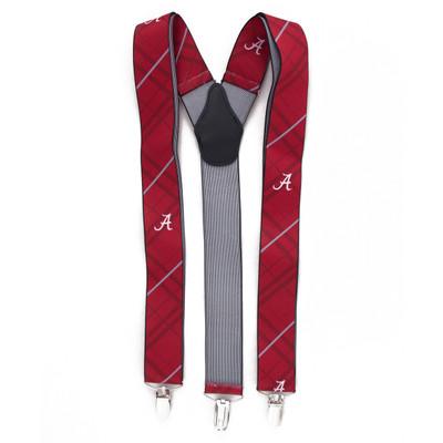 Alabama Crimson Tide Oxford Suspenders | Eagles Wings | 8002