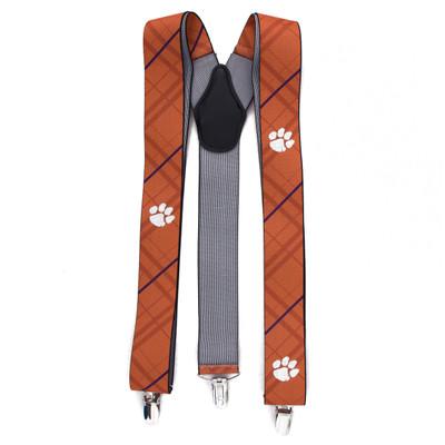 Clemson Tigers Oxford Suspenders | Eagles Wings | 8006