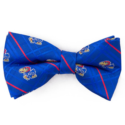 Kansas Jayhawks Oxford Bow Tie | Eagles Wings | 3535