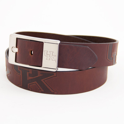 Kentucky Wildcats Brandish Brown Belt | Eagles Wings | 9290-