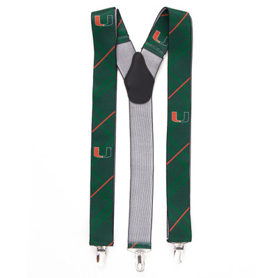 Miami Hurricanes Oxford Suspenders | Eagles Wings | 8094