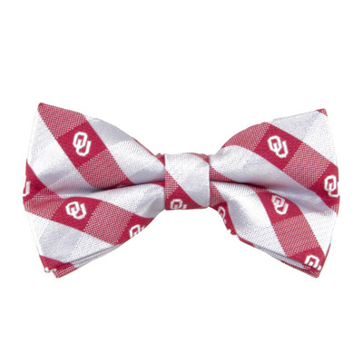 Oklahoma Sooners Check Bow Tie | Eagles Wings | 2361