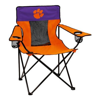 Clemson Tigers Elite Tailgate Chair | Logo Chair | 123-12E