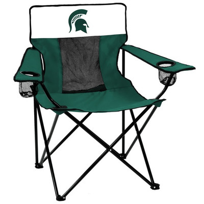 Michigan State Spartans Elite Tailgate Chair | Logo Chair | 172-12E