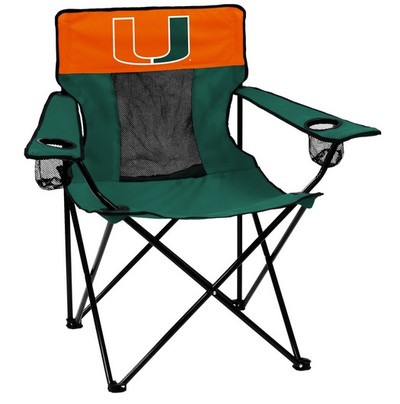 Miami Hurricanes Elite Tailgate Chair | Logo Chair | 169-12E