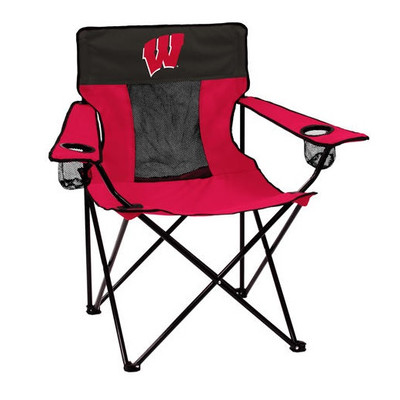 Wisconsin Badgers Elite Tailgate Chair | Logo Chair | 244-12E