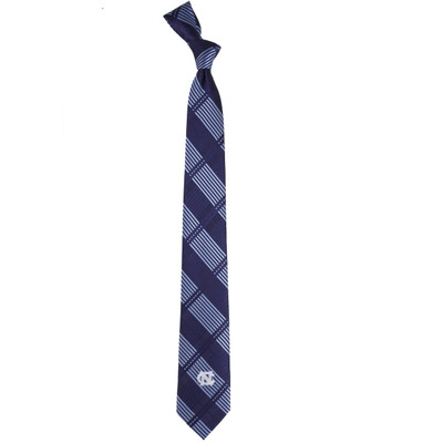 UNC Tar Heels Plaid Skinny Tie | Eagles Wings | 3844