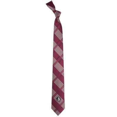 FSU Seminoles Plaid Skinny Tie | Eagles Wings | 3836