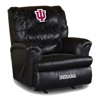 Indiana Hoosiers Leather Big Daddy Recliner | Imperial International | 79-3029