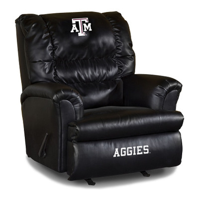Texas A&M Leather Big Daddy Recliner   Imperial International   79-3021
