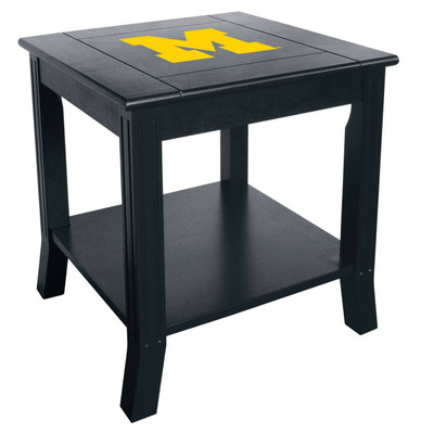 Michigan Wolverines Side Table | Imperial International | 85-7009